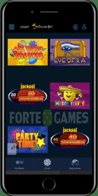palmsbet мобилно казино